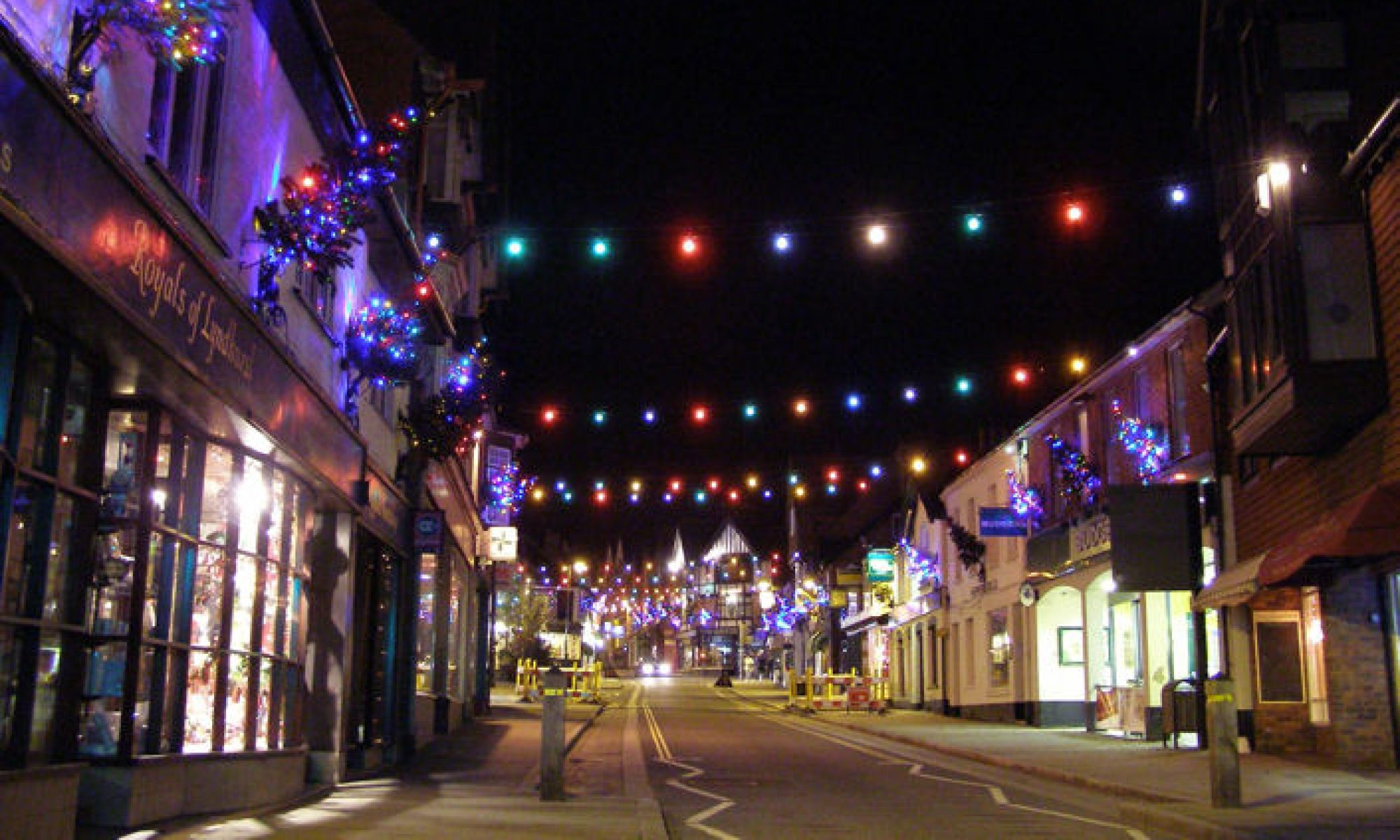 Lyndhurst Christmas Lights